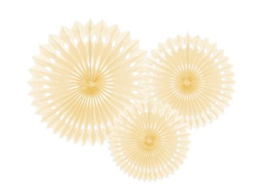 Rozeta Rozety Dekoracyjne ślub Dekoracja Sali 3szt