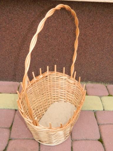 Koszyk Prezentowy Z Wikliny Kwiaty Prezent Kosz 5738854868 Allegro Pl