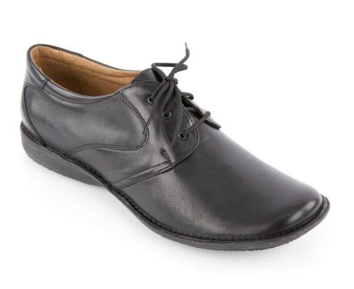 obuwie damskie młodzieżowe buty ze skór naturalnych