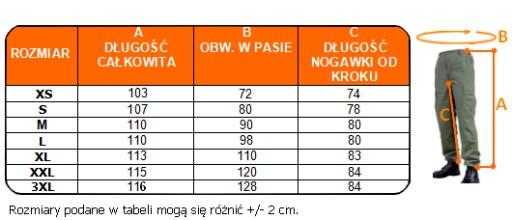 WYPRZEDAŻ -35% SPODNIE BOJÓWKI M65 RipStop MFH XL 7697215076 Odzież Męska Spodnie QJ QEEVQJ-4