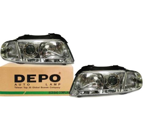 Audi A4 B5 99-01Lampy фары новые L+P DEPO