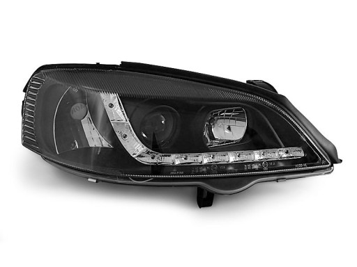 Lampy Przod Opel Astra G 98 Black Led Diodowe Pajeczno Allegro Pl