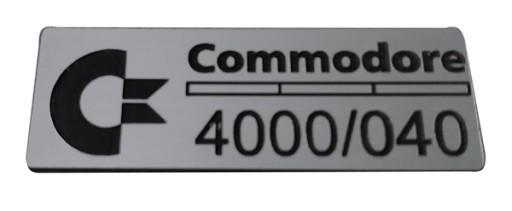 Badge sticker znaczek Amiga 4000 030/040/060