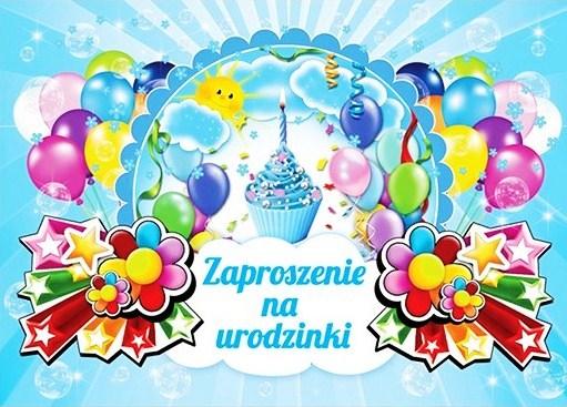 Zaproszenie Na Urodziny Urodzinki Roczek Pierwsze 6440994156