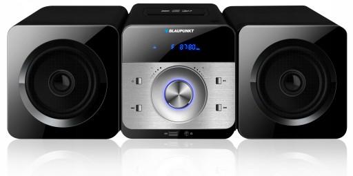 BLAUPUNKT Mikrowieża MS6BK CD USB MP3 PILOT 30W