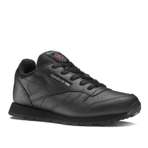 Reebok Classic Leather 50170 Czarne Dziecięce 32,5
