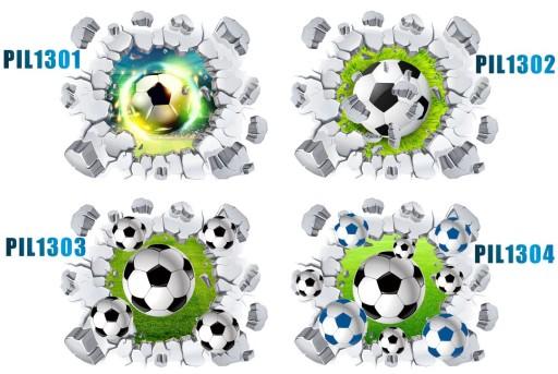 Naklejki Na ścianę 3d Piłka Nożna Piłki 3d 50cm 7005113777 Allegropl