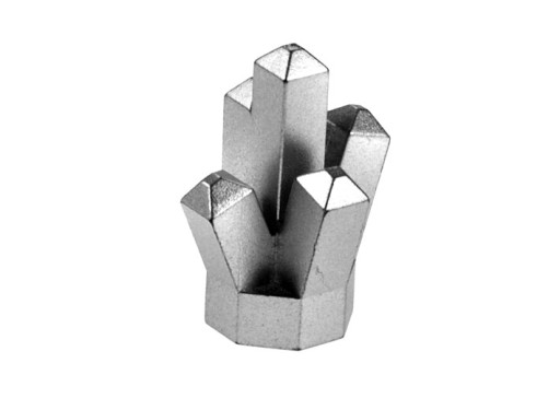 Klejnoty kryształ skalny srebrny LEGO / 52