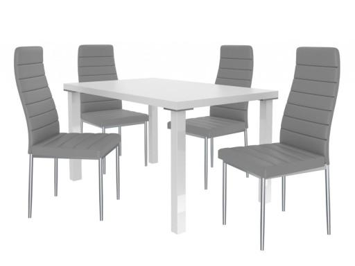 Stół I Krzesła Moderno Belini 7446519398 Allegropl