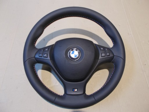 BMW X5 E70 X6 E71 MPAKIET KIEROWNICA KOMPLETNA