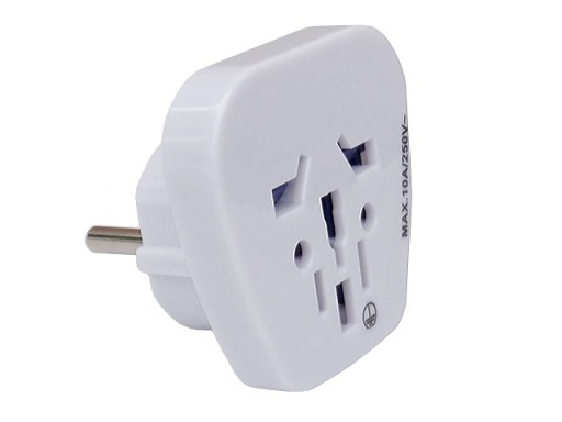 Adapter zasilania wt E - gn A/B/C/G/I/J/L/N biały