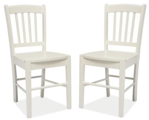 Signal Krzesło Kuchenne Drewniane Cd 57 Białe