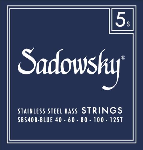 Struny Sadowsky SBS40B Blue 40-125T BASSWORLD