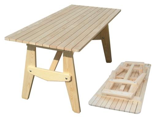 Stolik Ogrodowy Drewniany Stół Do Ogrodu Składany