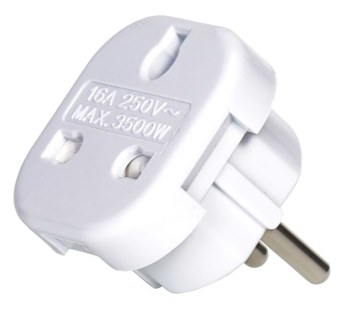 Adapter UK-PL przejściówka angielsko-polska wtyczk