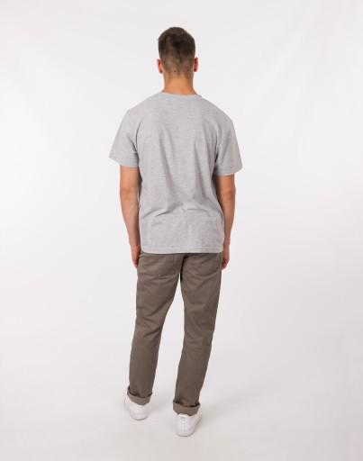 Cienkie Spodnie Męskie Bawełniane 610/K 106 cm/34c 7440979245 Odzież Męska Spodnie PJ EQLPPJ-2