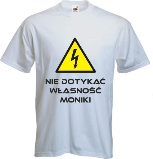 05ee84b9f KOSZULKA dla mężczyzny nie dotykać DZIEŃ CHŁOPAKA 7671344913 - Allegro.pl