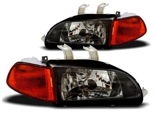 Lampy Honda Civic V 92 95r Depo Jdm Kier Amber Knurow Allegro Pl