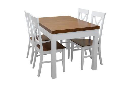 Stół Rozkładany Bartek 4 Krzesła Alicja