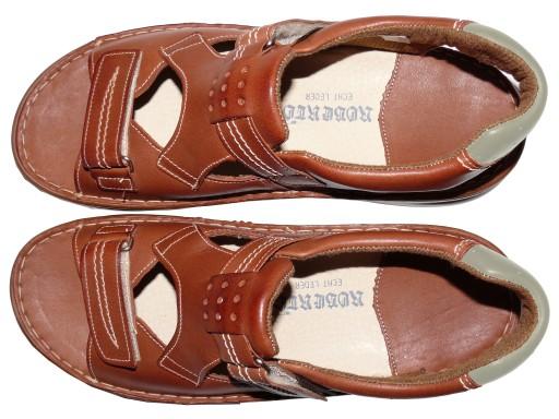 Duże sandały męskie, ROBERTO, nr 52, PRODUCENT 9239164067 Obuwie Męskie Męskie LI RVSPLI-2
