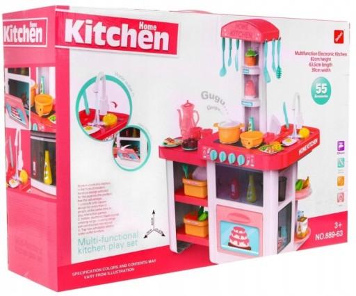 Lt12 Kuchnia Dla Dzieci Kran Woda światła Dźwięki