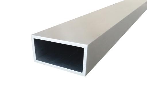 profil aluminiowy 80x20x2 mm 100 cm kszta townik 6397686569 wi cej ni aukcje. Black Bedroom Furniture Sets. Home Design Ideas