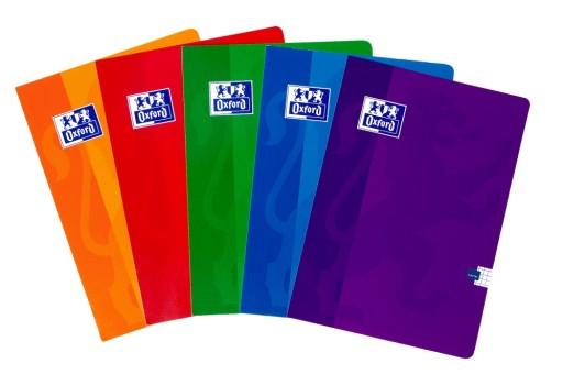 Zeszyt Oxford A5 Kratka 60 Kartek 90g Mix 10 Sztuk 9558212903 Allegro Pl