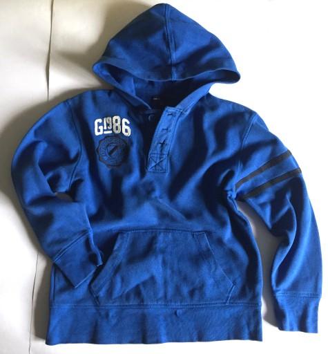 GAP bawełniana bluza niebieska L/10/146