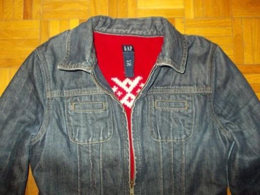 Kurtka jeansowa katana ocieplana GAP ( 34 / 36 )