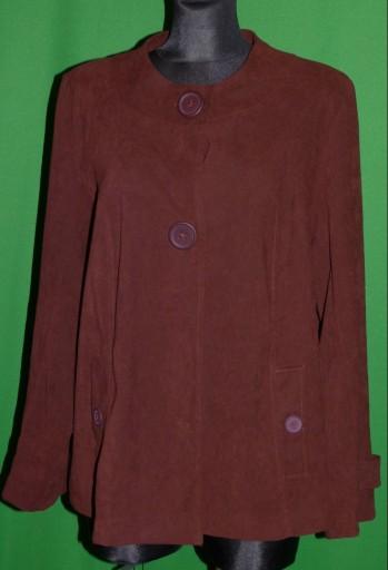 3L- kurtka płaszczyk bordo CASUAL COMFORT 20 /48