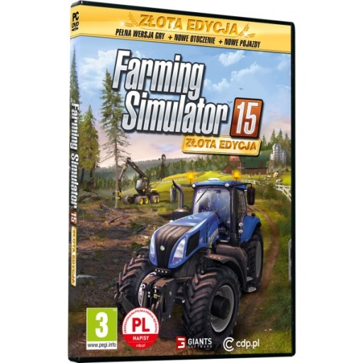 FARMING SIMULATOR 15 SYMULATOR FARMY 2015 ZŁOTA PL