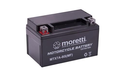 Akumulator Zelowy 12v Ytx7a Bs 7ah Skuter Moretti Milanowek Allegro Pl
