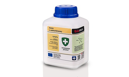 Kwas L-askorbinowy Witamina C  500G 99,9% biomus