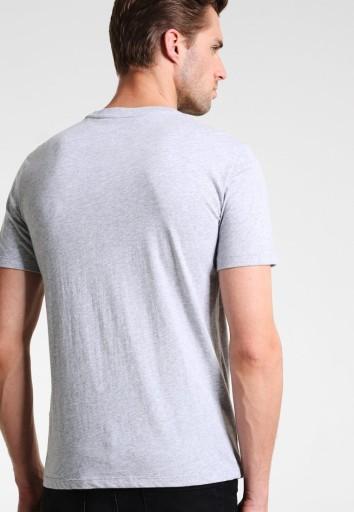 SZARA KOSZULKA ARMANI EXCHANGE ROZMIAR XL Z LOGO 7183471879 Odzież Męska T-shirty OM UGKPOM-1