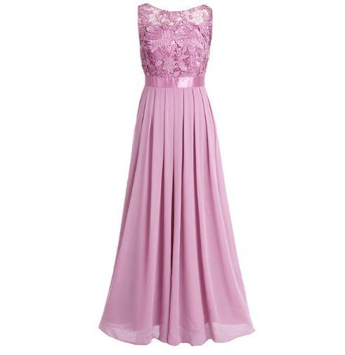 Sukienka Suknia Długa Maxi Wesele Druhna L 7028473031 Allegropl