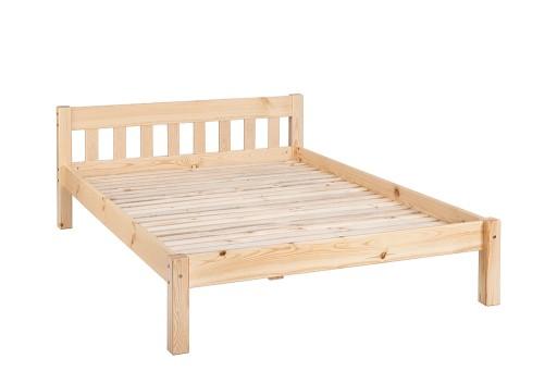łóżka łóżko Drewniane Desi 140x200 Natura Gratis