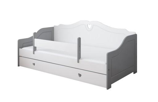 Niewiarygodnie Łóżko / Sofa ZUZIA 180x80 z szufladą i materacem 7663821470 GA43