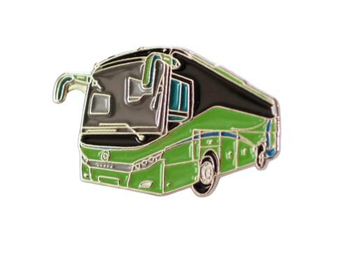 Zielony AUTOBUS dla KIEROWCY Pin Przypinka Pins