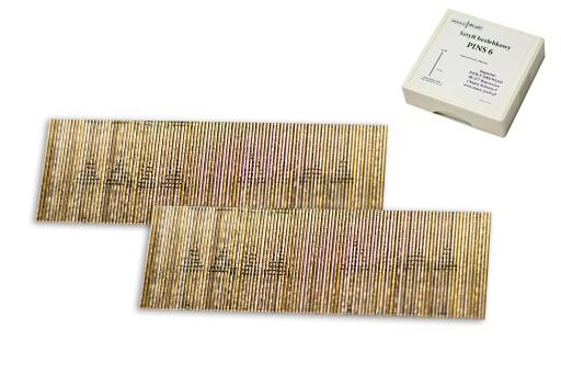 Sztyfty bezłebkowe, igiełki, PINS 6x18mm,10 tys.