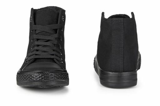 buty wysokie czarne męskie