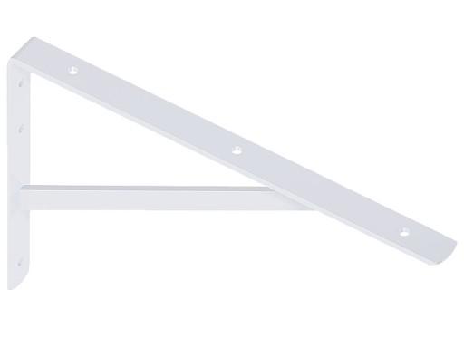 50x33cm Wspornik Pod Półki Kątownik Biały Do 150kg