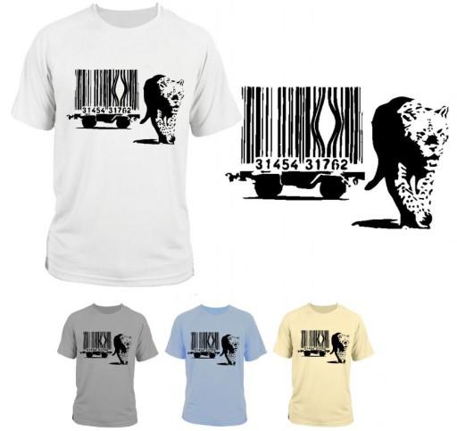Koszulka T Shirt Banksy Style Kot Kreskowy 7726370619 Allegropl