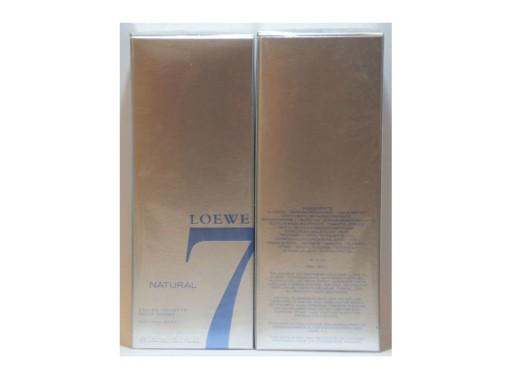 LOEWE 7 NATURAL 150ML EDT UNIKAT jp