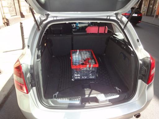 Toyota Auris I HB 5D 06-12r. Siatka do bagażnika