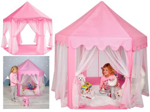 Namiot dla Dzieci Pałac do Domu Ogrodu Zamek Domek