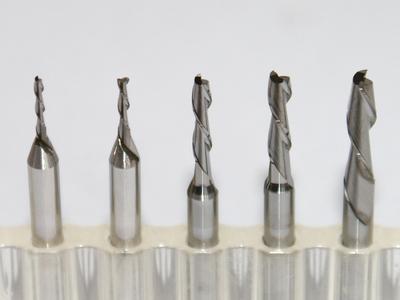 Frez Frezy dwupiórowy 1,6 mm czoło płaskie VHM CNC