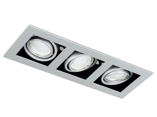 Lampa podtynkowa oprawa oczko do LED 3xGU10 OH43