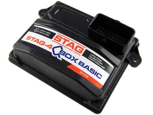 AC STAG-4 QBOX BASIC 4 CILINDRAS. KOMPIUTERIS VALDIKLIS