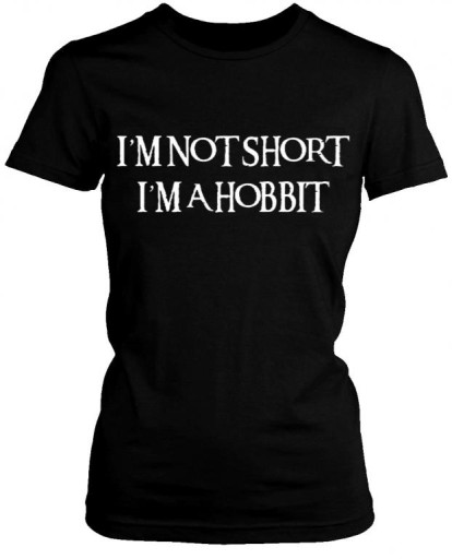koszulka HOBBIT t-shirt  I'm not short I'm hobbit