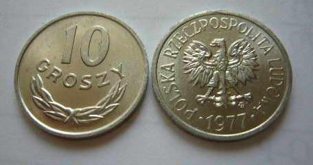 10 Gr Groszy 1977 Mennicza Mennicze 6947906232 Allegro Pl